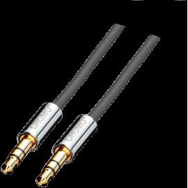 Cromo - Câble audio Jack - 1m - jack mâle /mâle